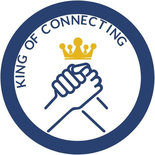 Logo King of Connecting rond dark 500x500 jpg